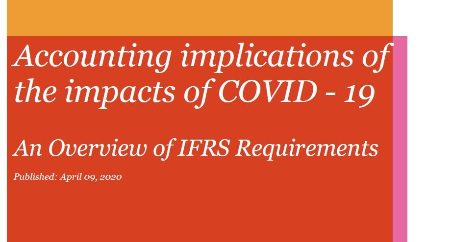 Accounting implications of the impacts of COVID-19